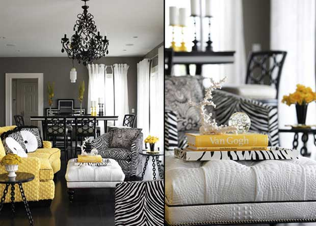 Gray And Gold Living Room Part 44