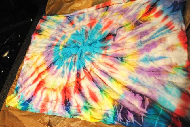 Acrylic Paint Tie Dyeing Katherine Smith Love Is The