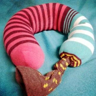 sock-done